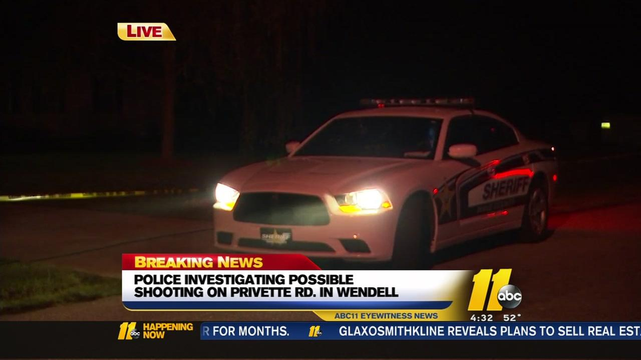 Authorities investigating shooting reports in Wendell