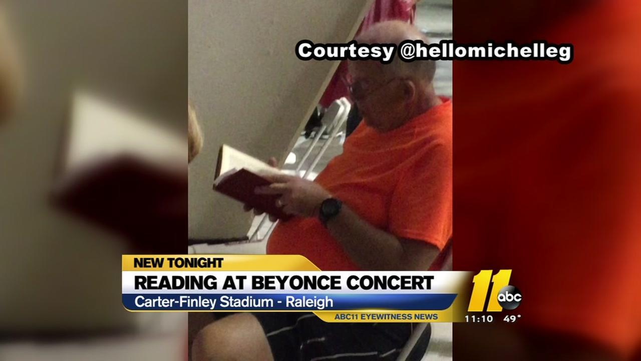 Reading at Beyonce
