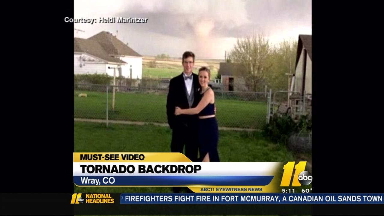 Tornado backdrop