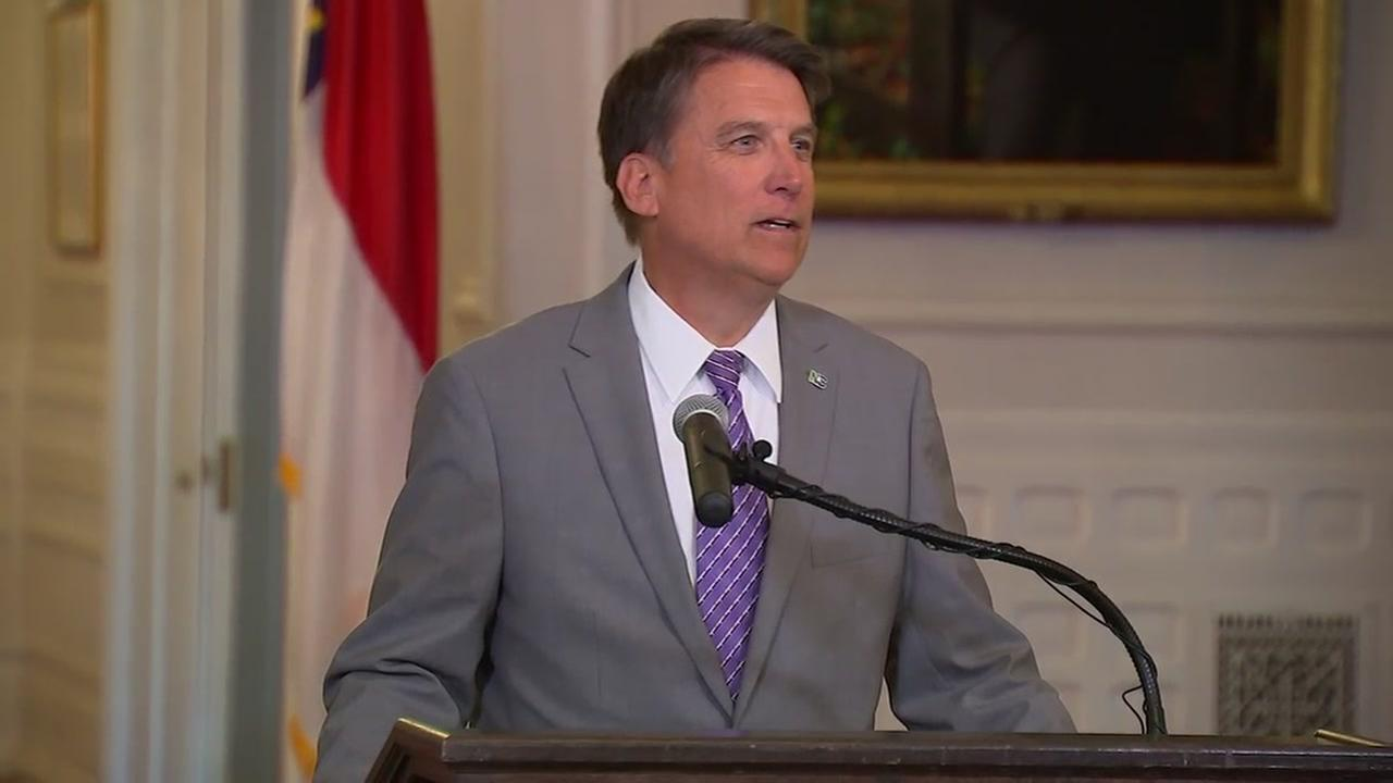 Governor McCrory speaks about HB2 lawsuit
