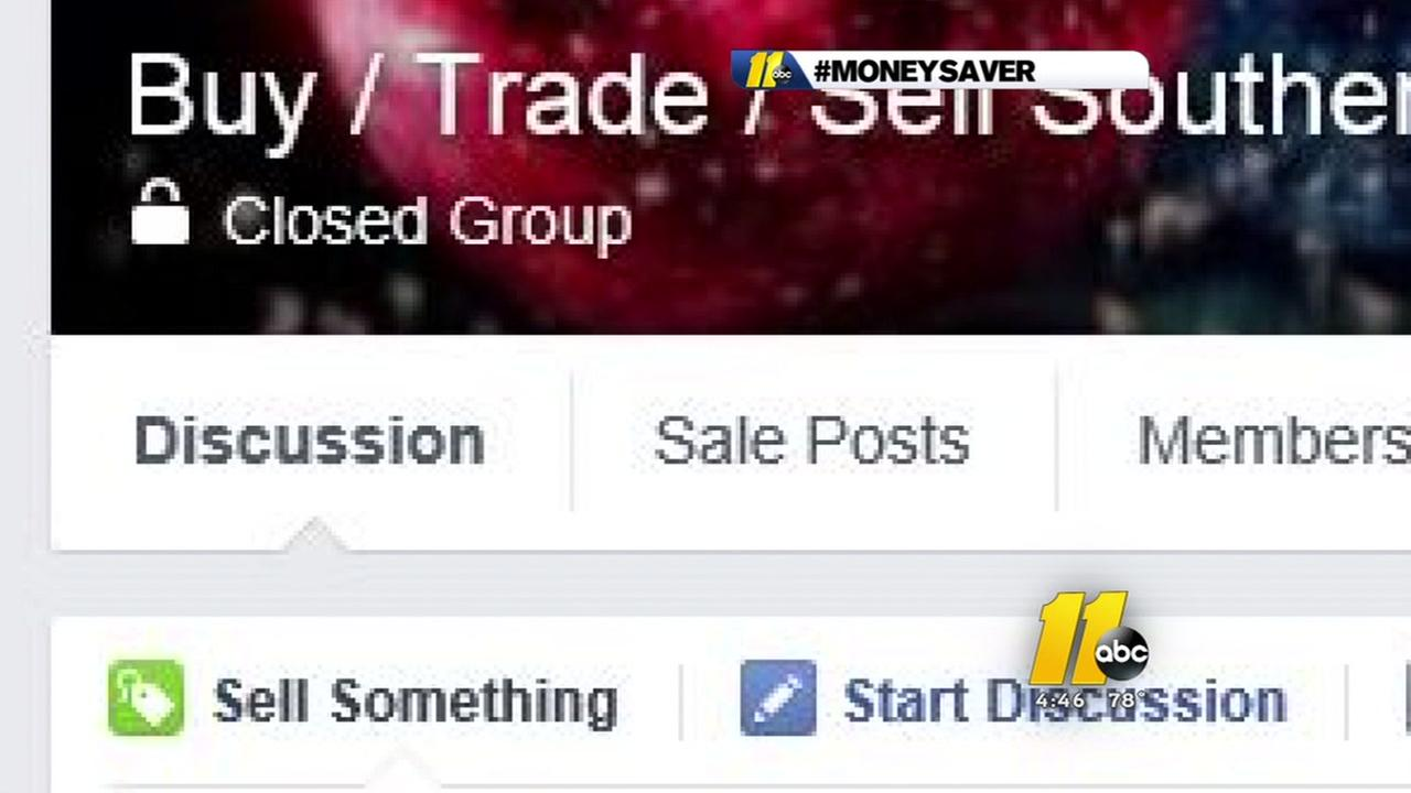 Buying selling trading on Facebook