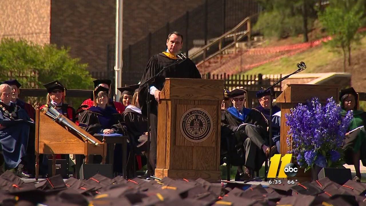 Duke graduation 2016
