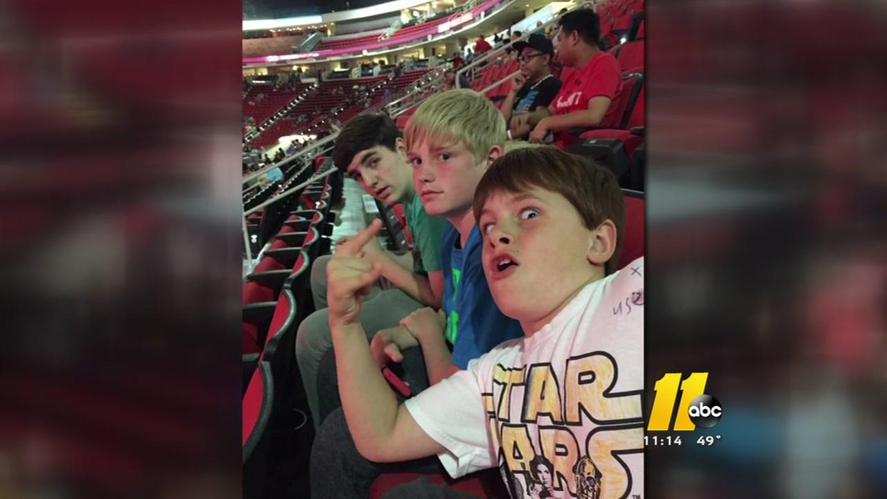 Family gets special treat after WWE teams up with the V Foundation