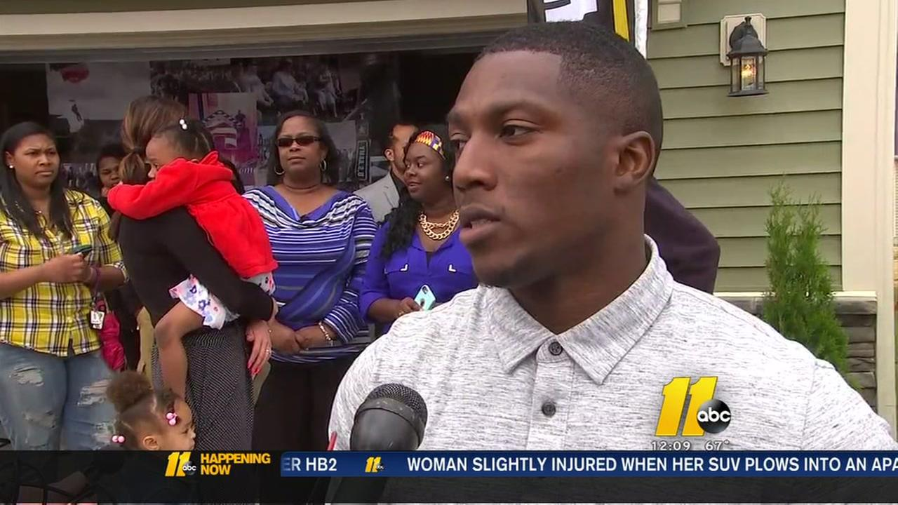Wounded warrior gets new home