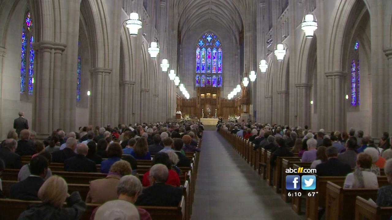 First service held in renovated Duke Chapel