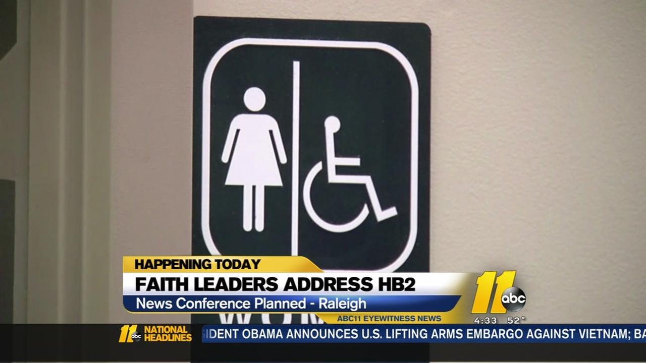 Faith leaders address HB2