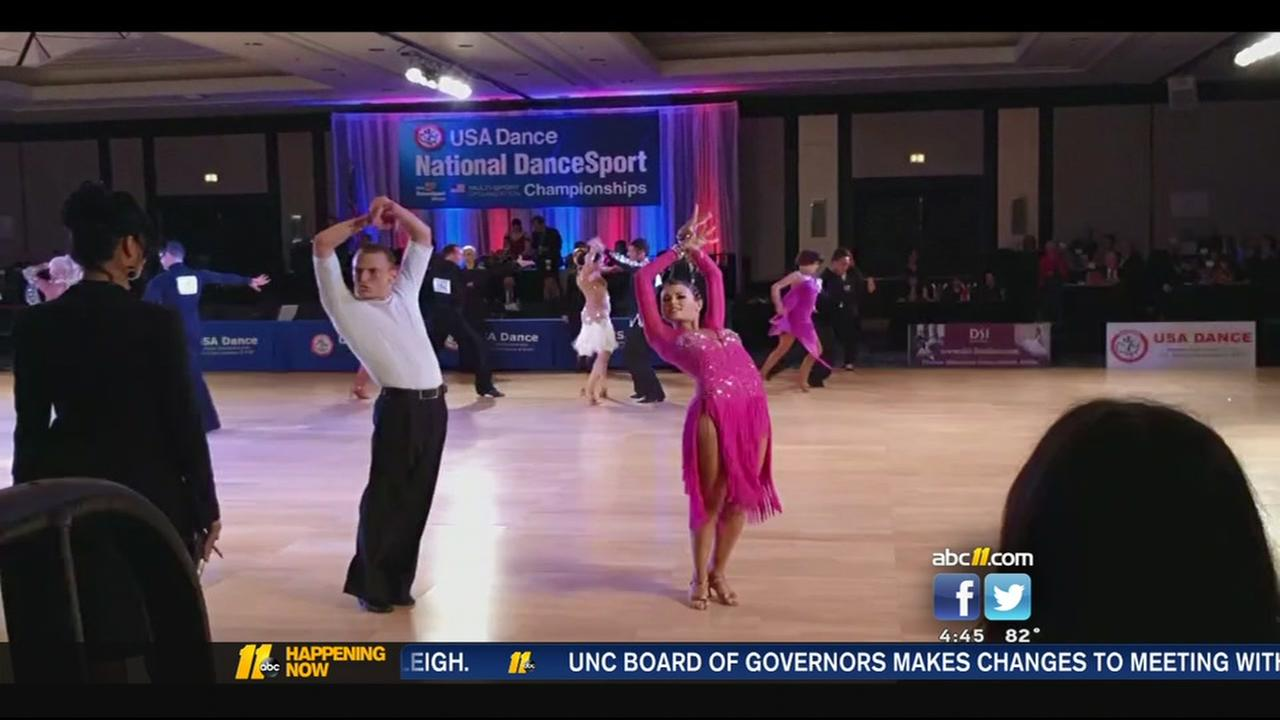Triangle couple wins national dance competition