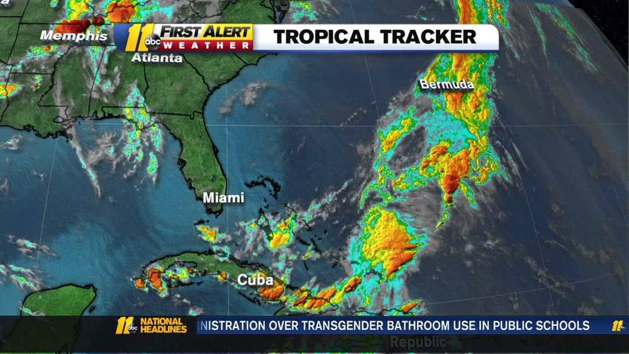 Potential tropical storm forming