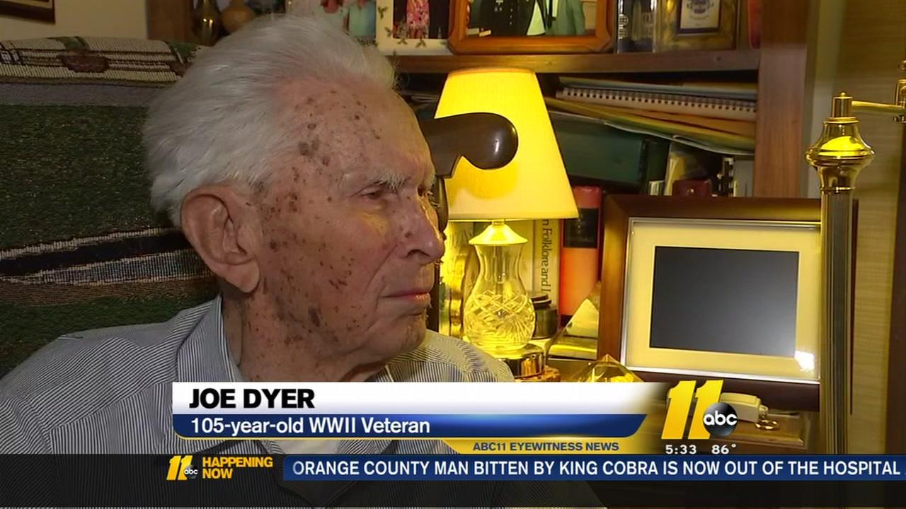 105-year-old veteran