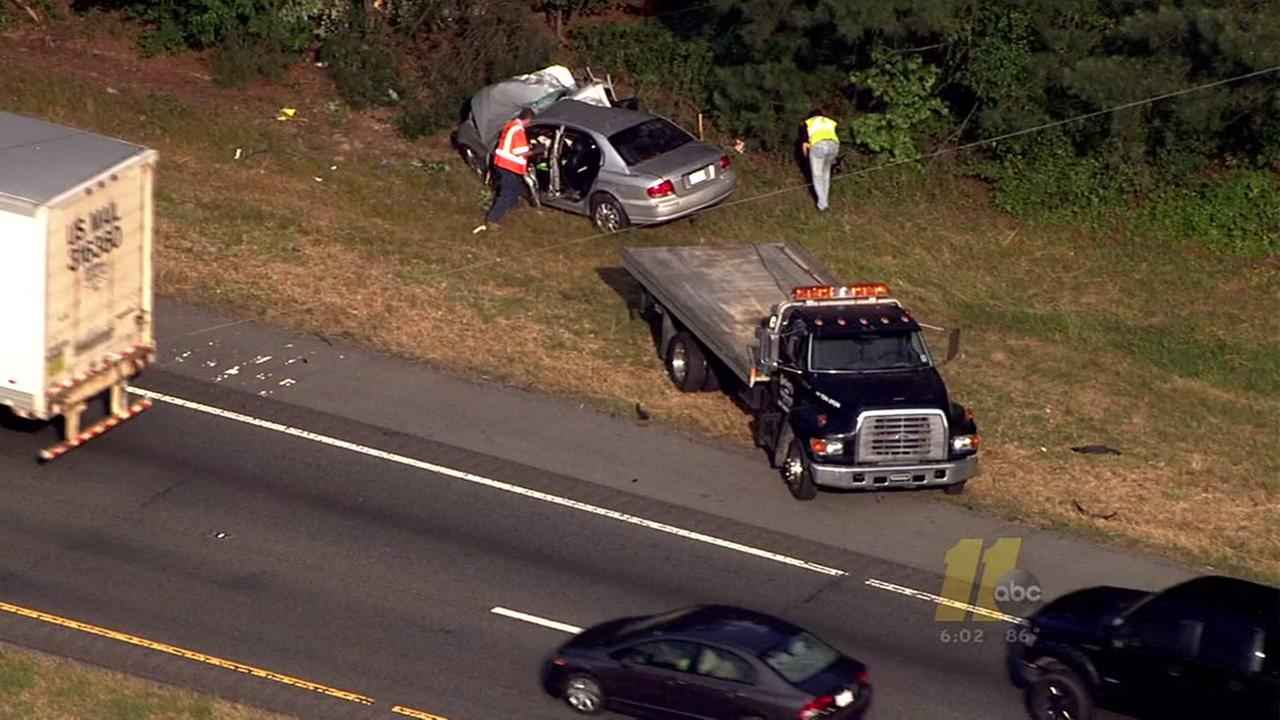Deadly crash in I95 NB