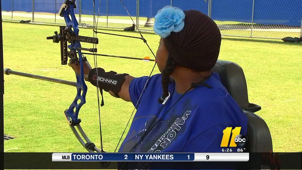 Disabled vet sets sights on the Olympics