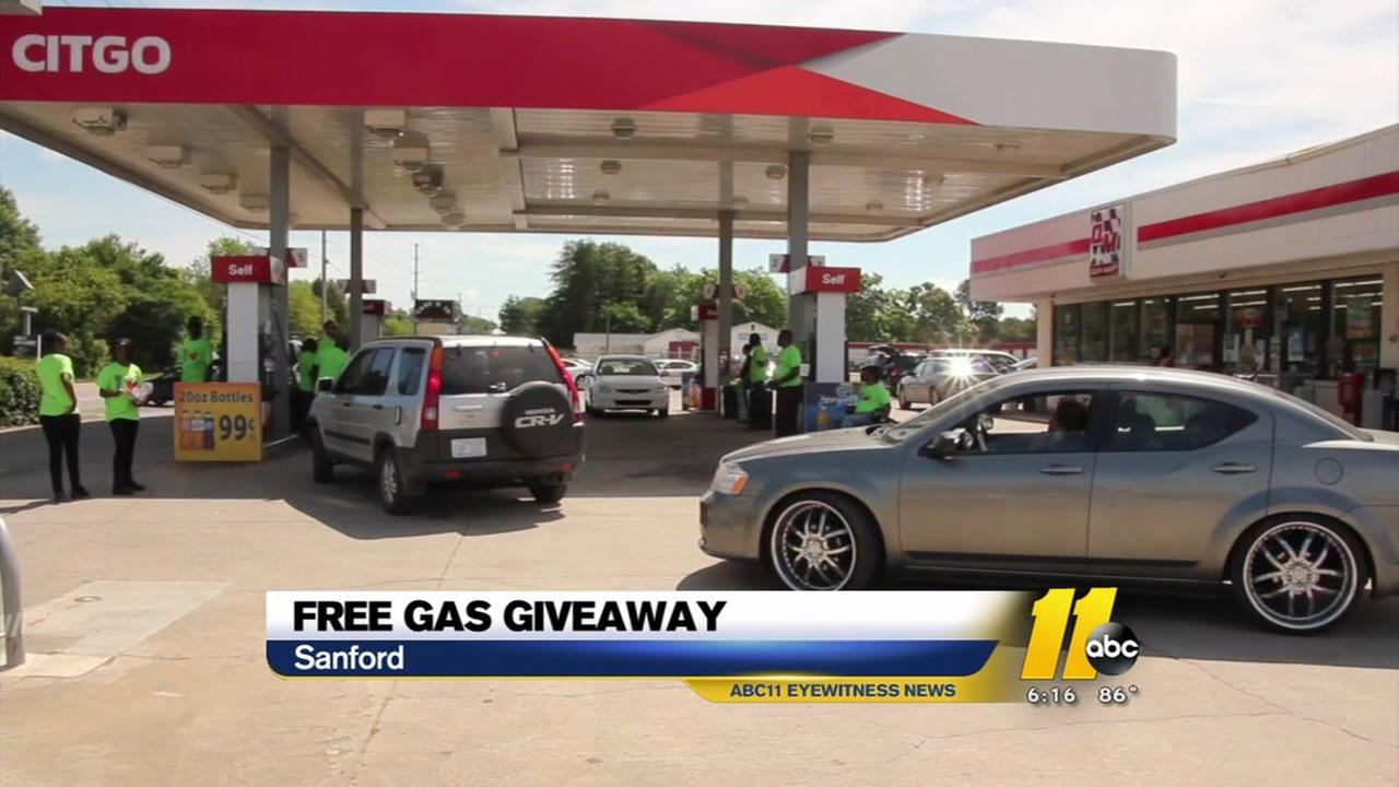 Free gas giveaway in Sanford