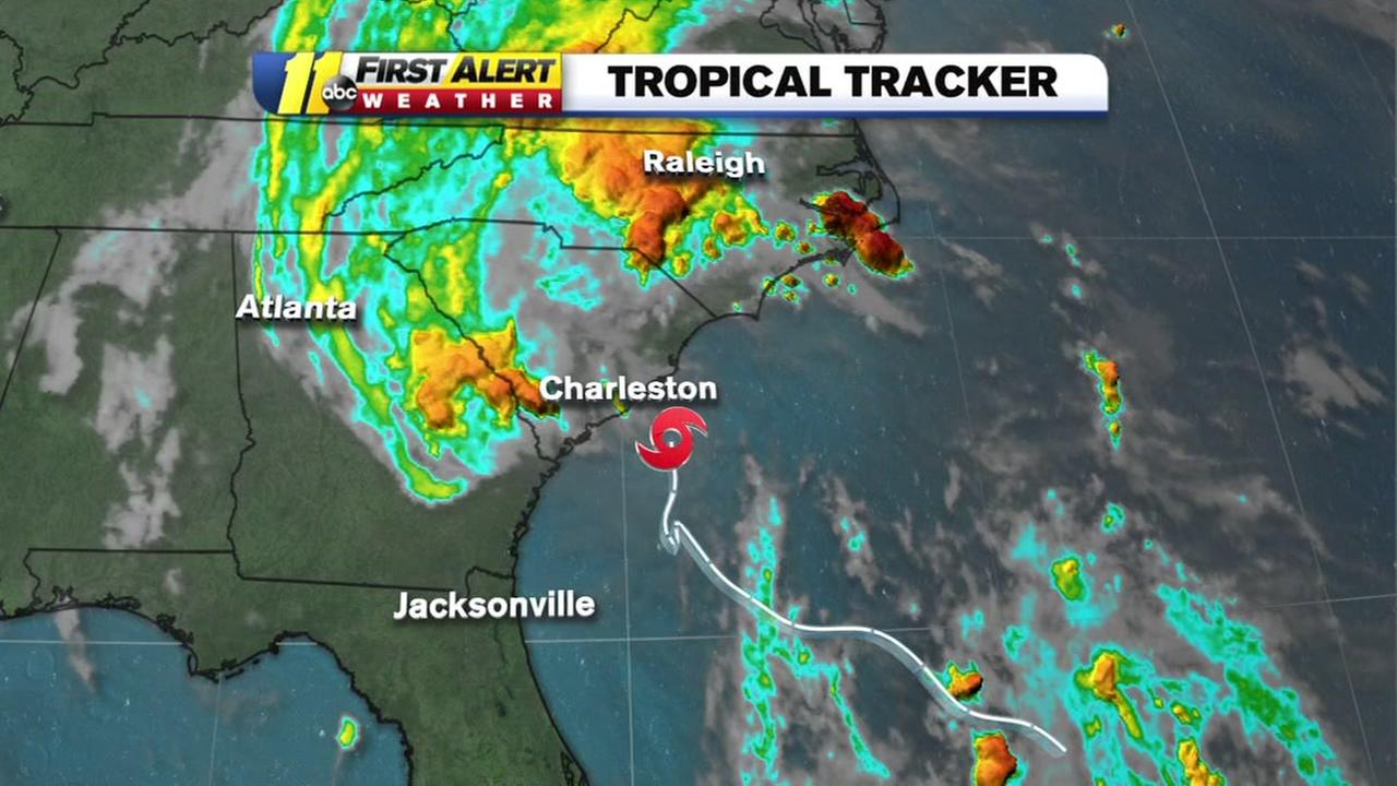 Bonnie expected to make landfall