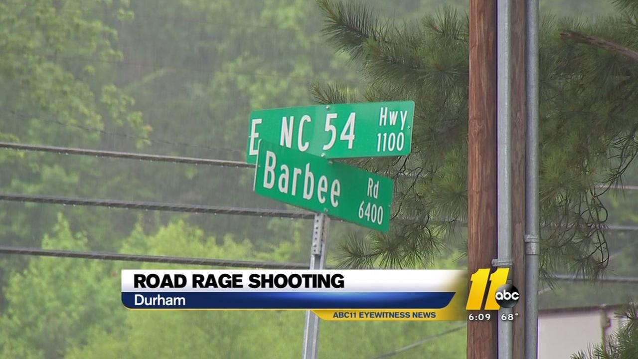 Road rage shooting in Durham