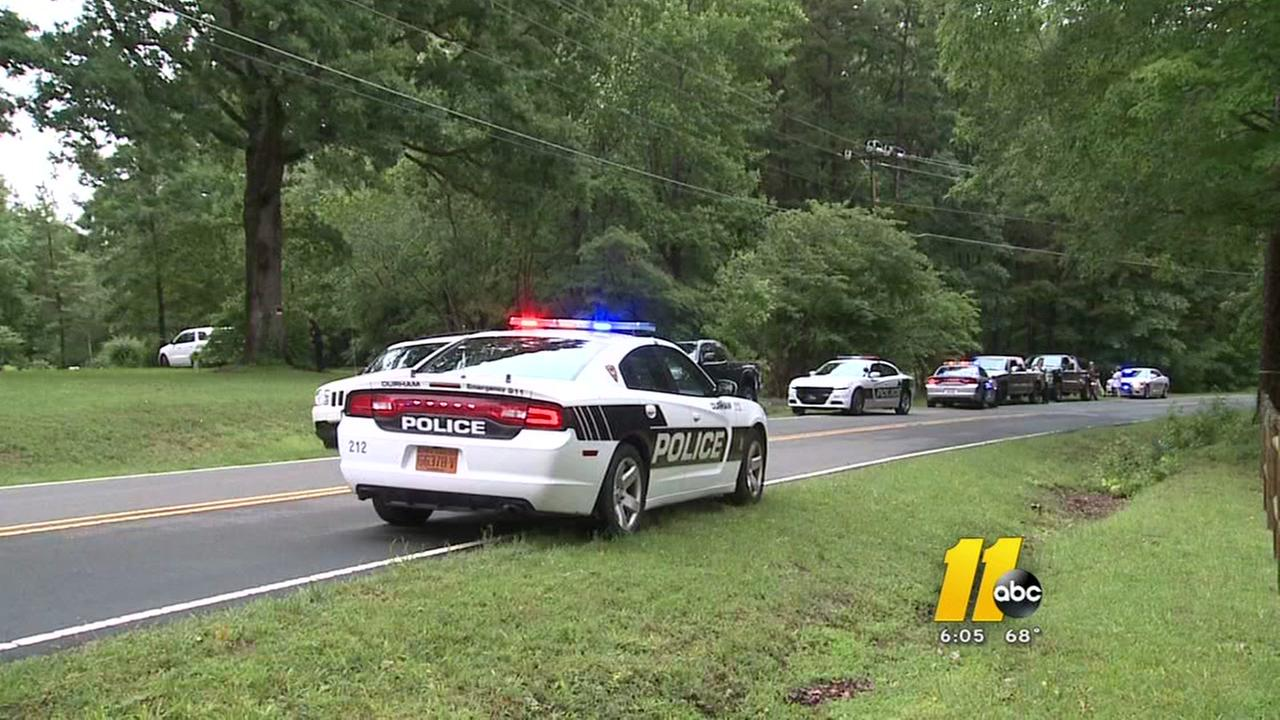 Man barricades himself in Durham home