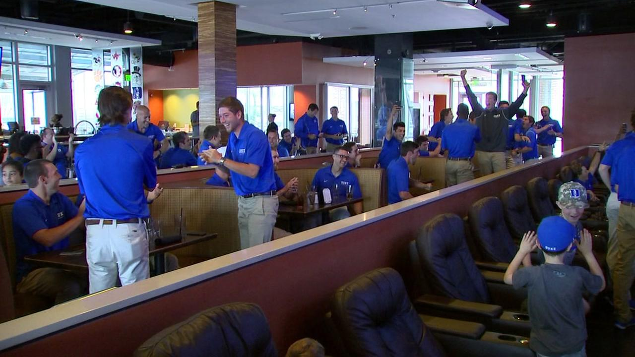 RAW VIDEO: Duke baseball selection