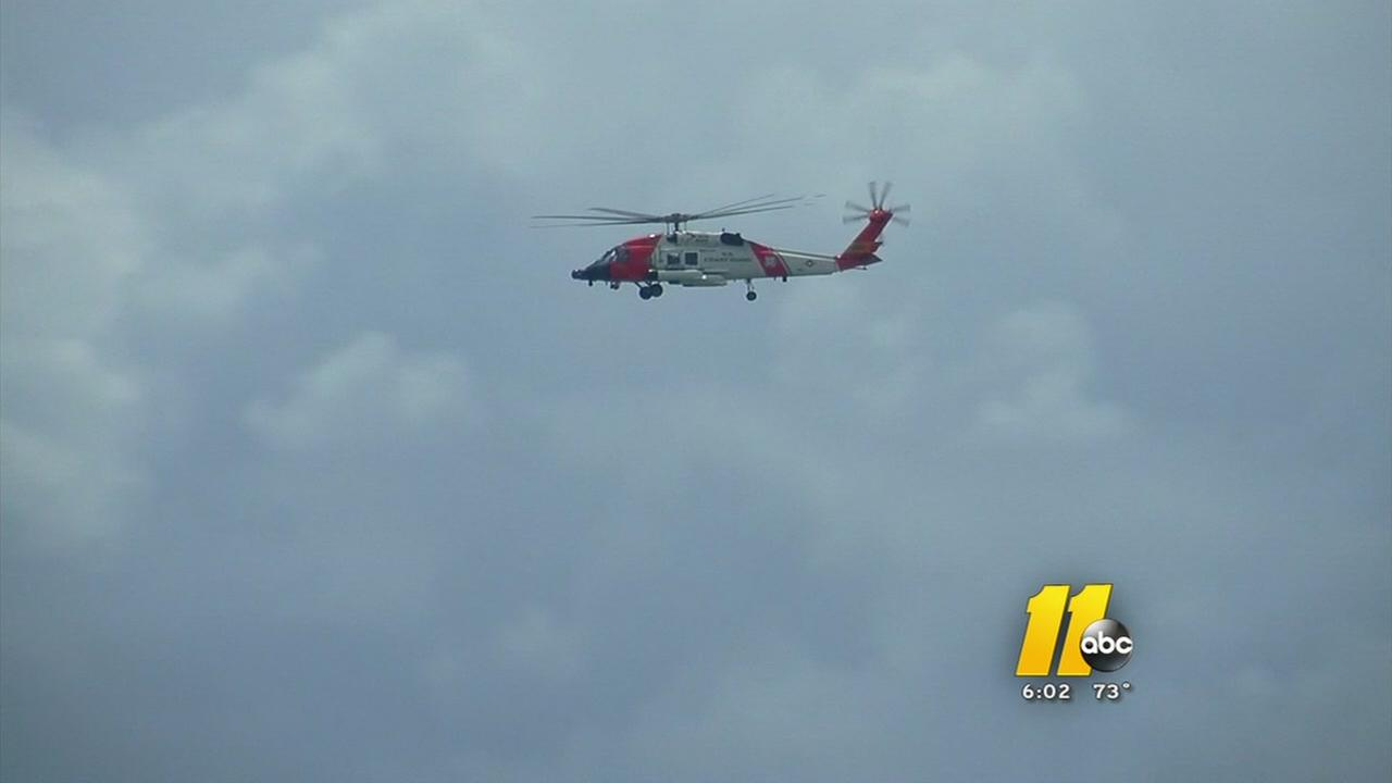 Crews continue search for lost swimmer