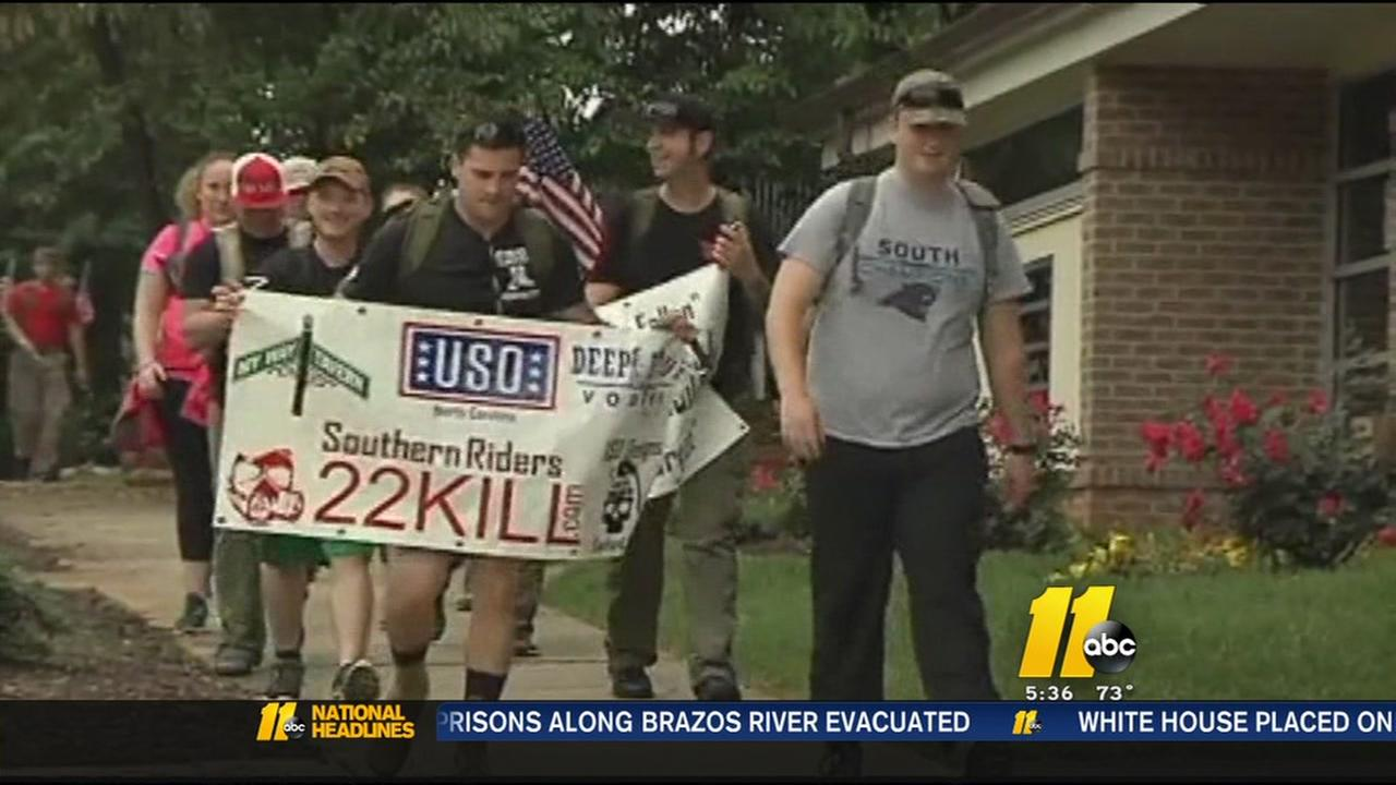 Ruck march to raise awareness