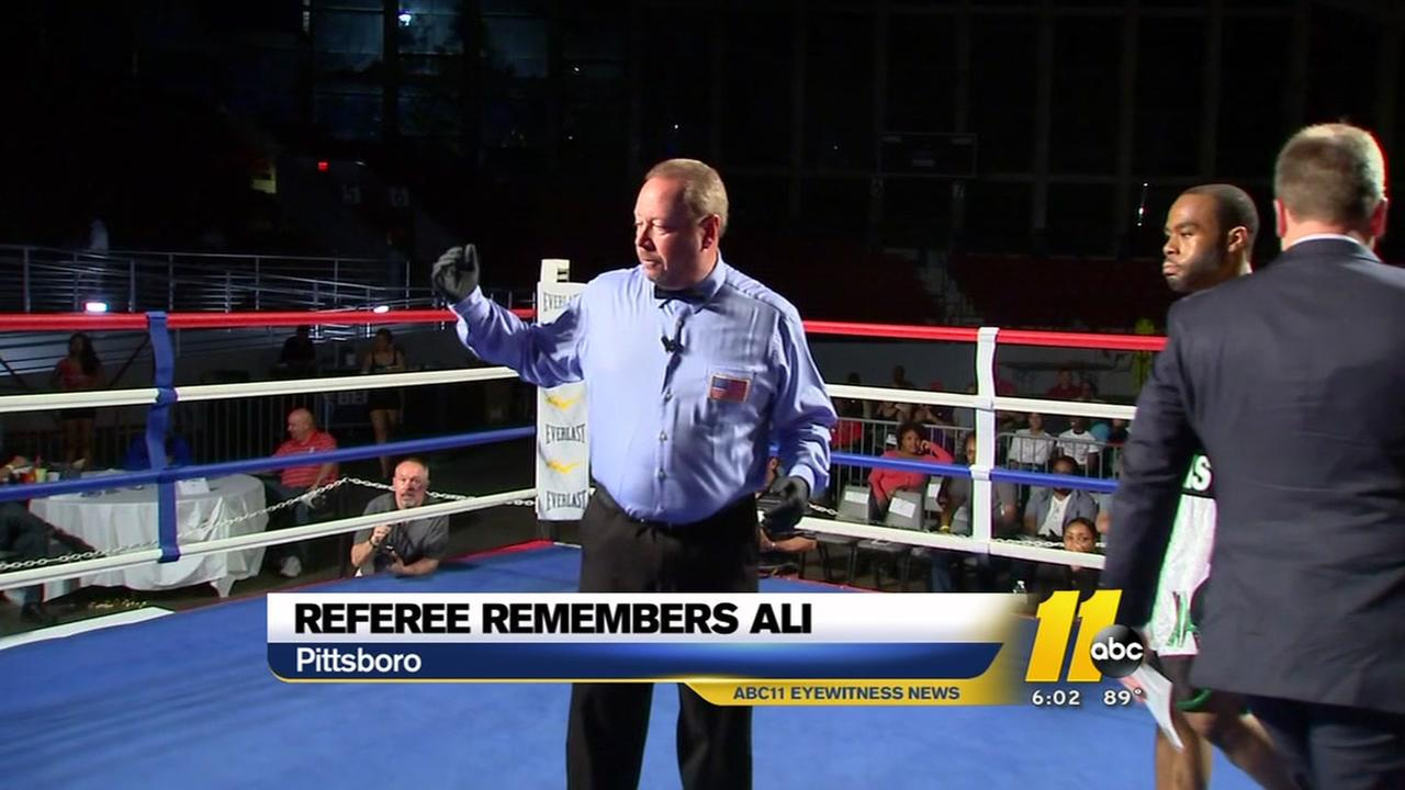 Pittsboro Hall of Fame ref reflects on Ali