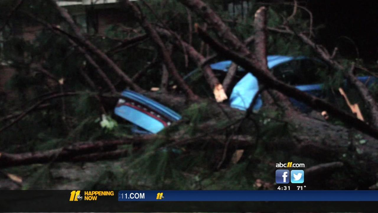 Storms leave a mess in Cumberland County, throughout NC