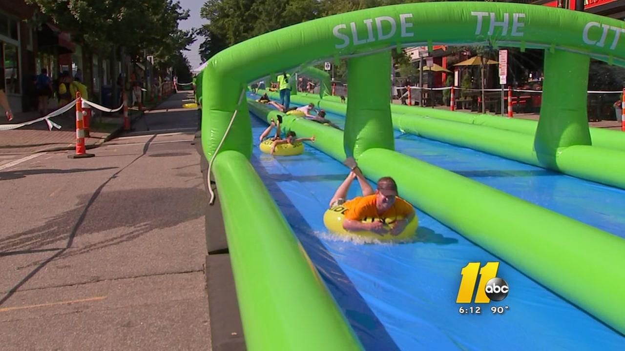 slide the city in raleigh nc