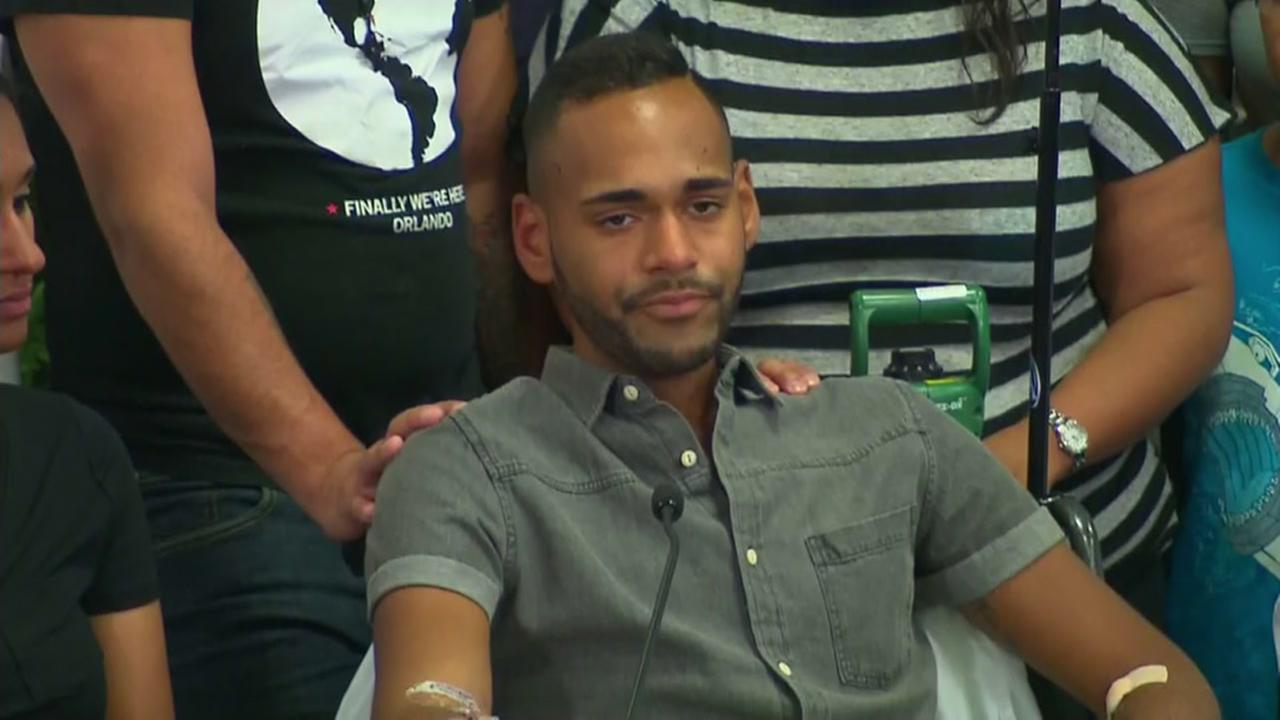 Survivor has harrowing story of shooting