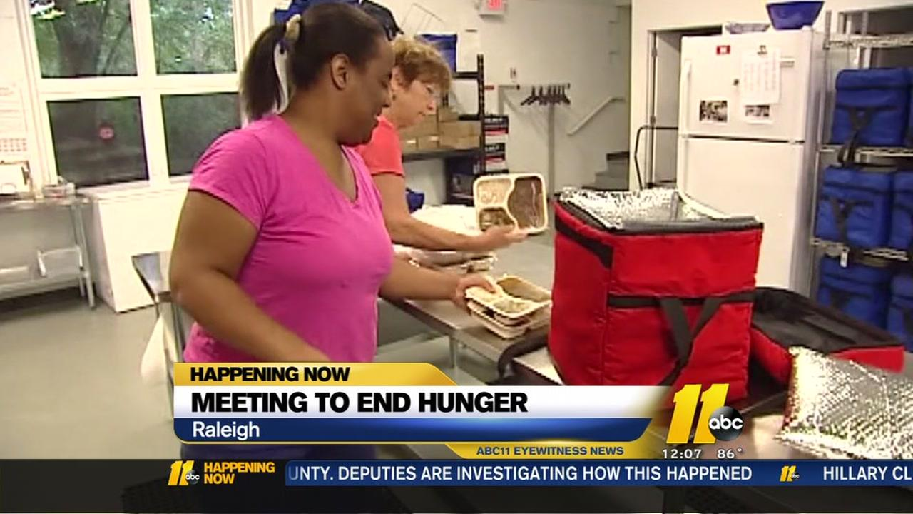 Meeting to end hunger