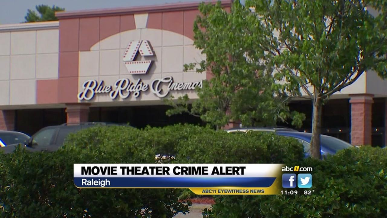 Movie Theater crime alert
