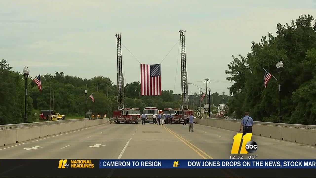 Smithfield bridge dedicated to fallen sheriffs deputy