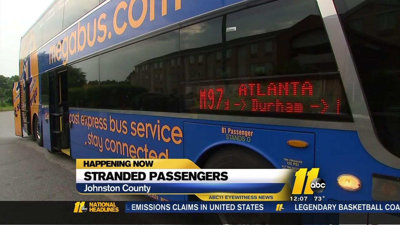 Passengers stranded for hours after bus breaks down