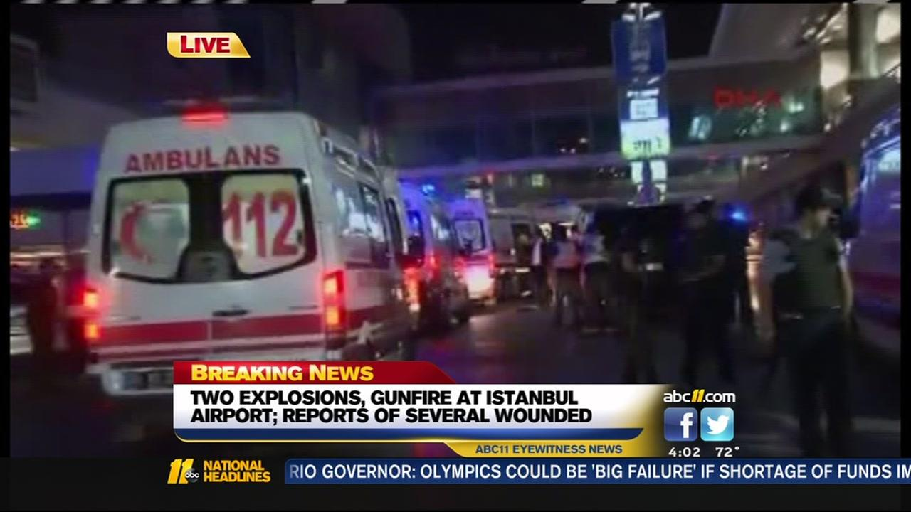 Explosions at Istanbul airport