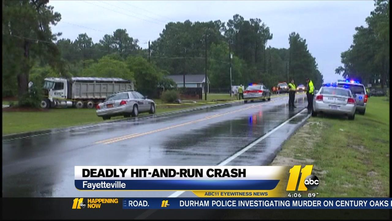 Search on for driver in deadly hit-and-run