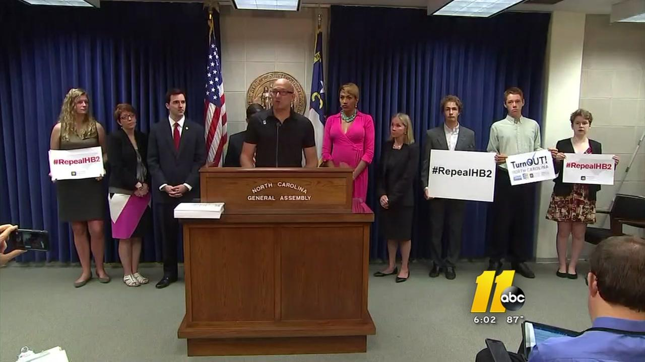 HB2 opponents deliver petition