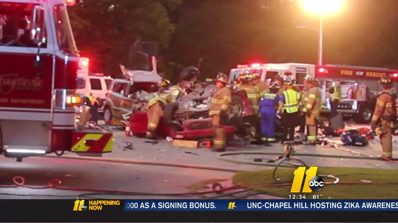 5th person dies after three-vehicle accident - some names released