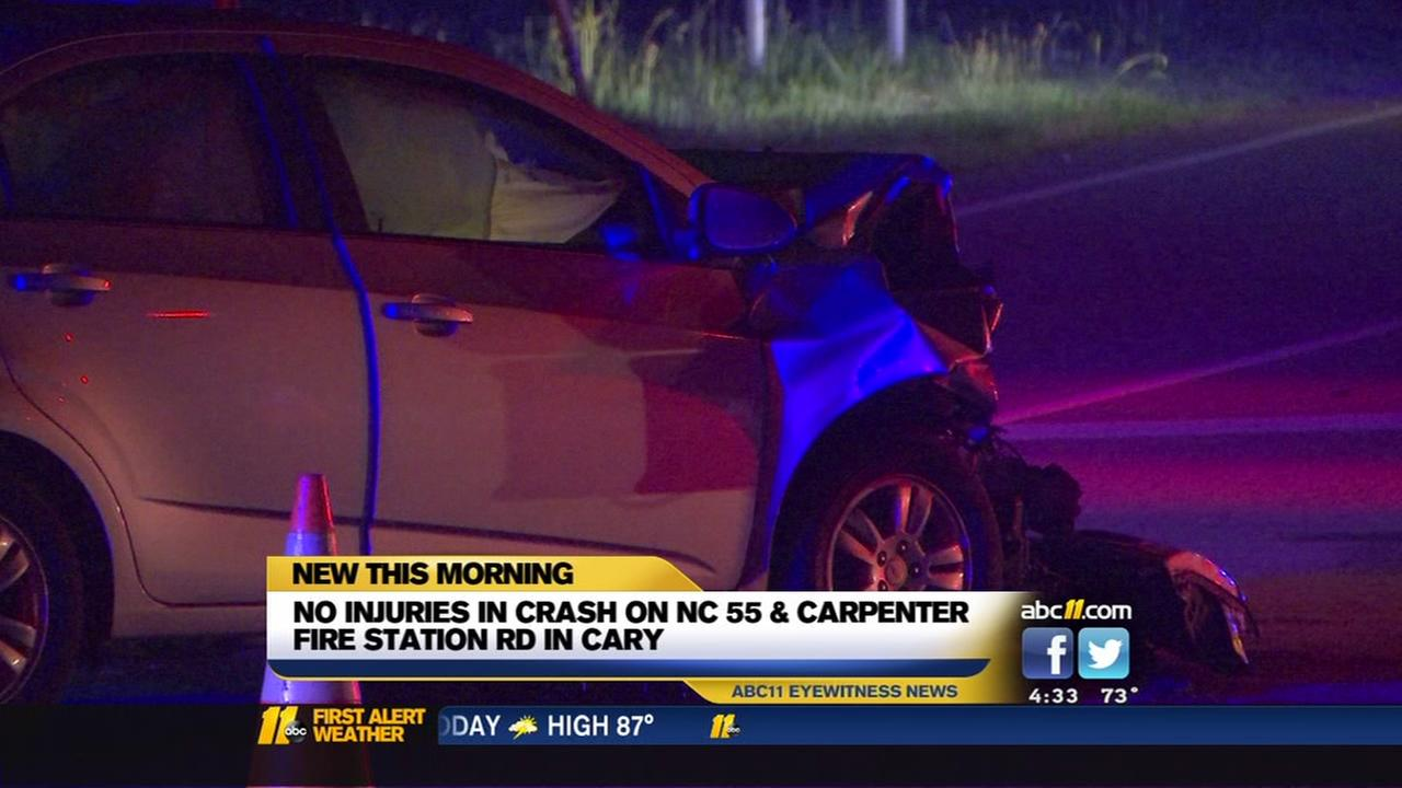 Cary crash under investigation