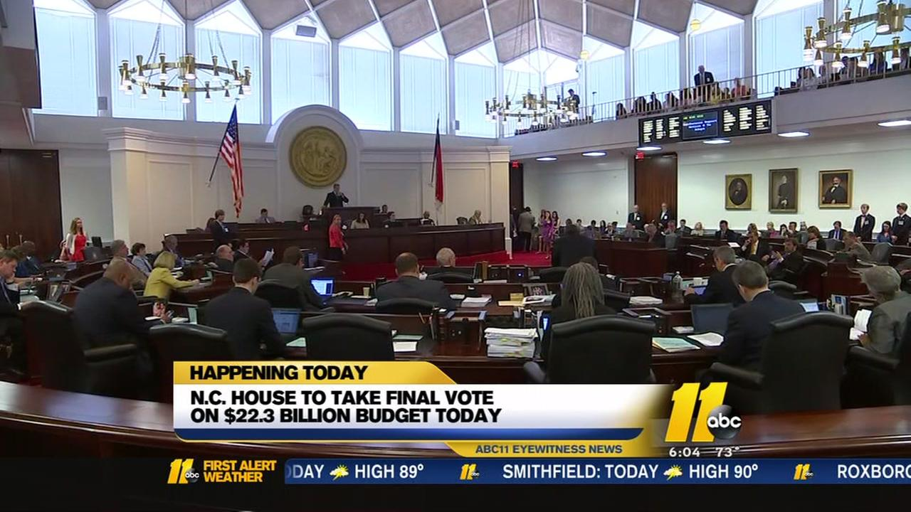 Adjournment in sight at North Carolina General Assembly
