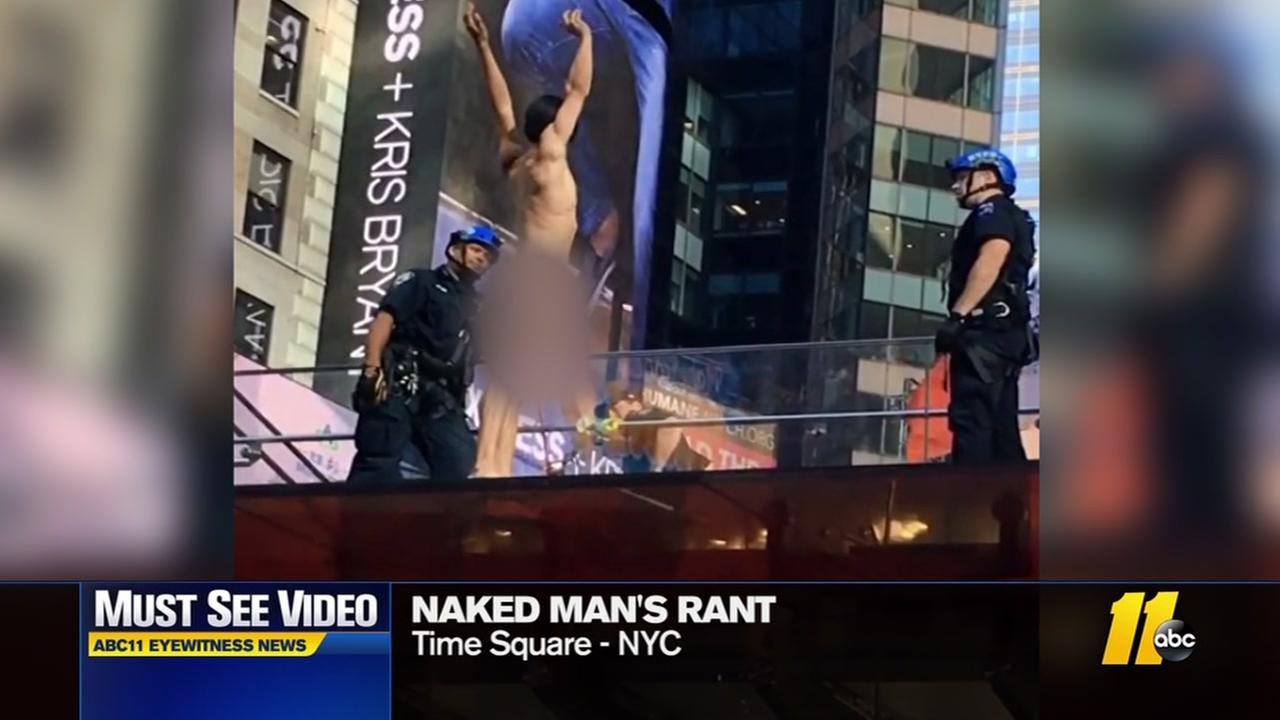 Naked in Times Square