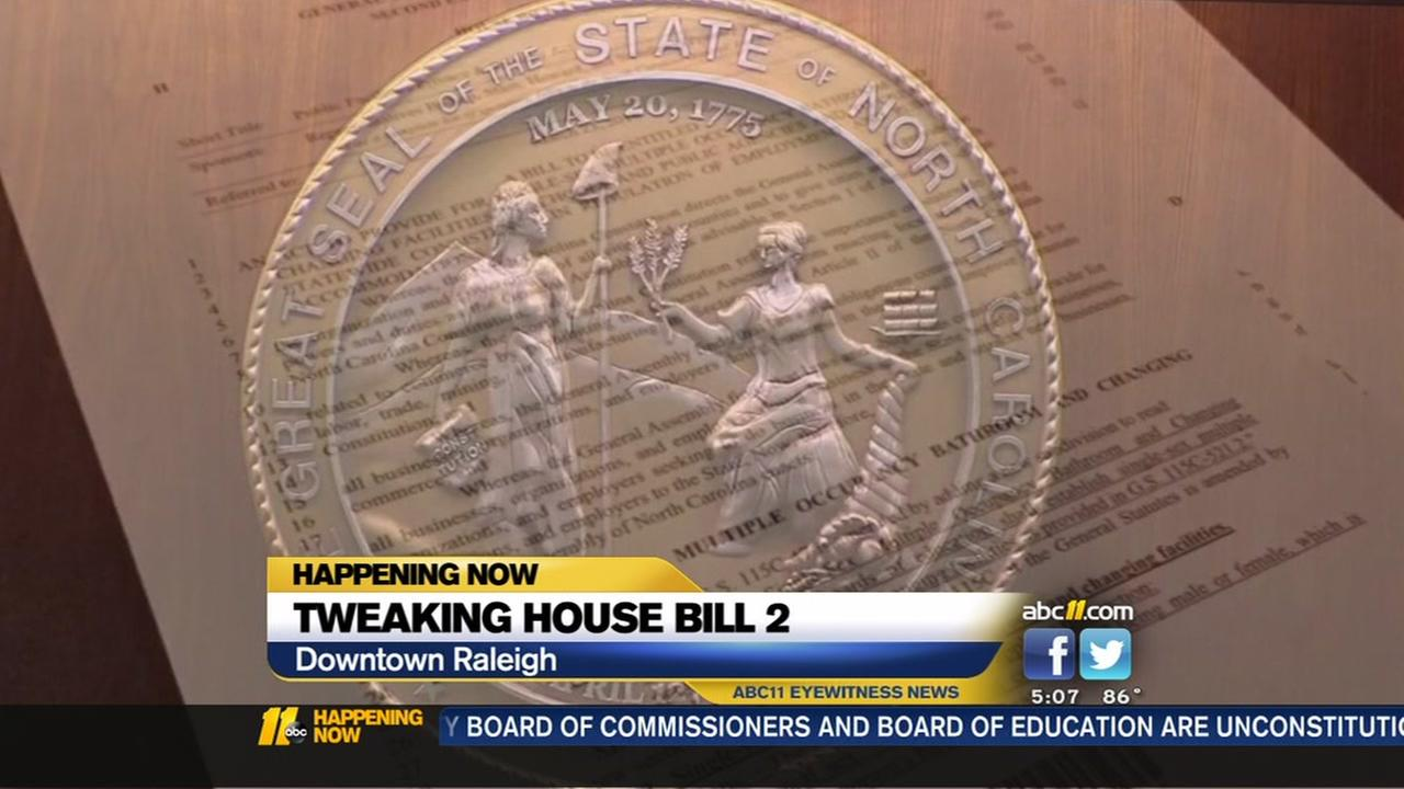 House Bill 2 tweaks