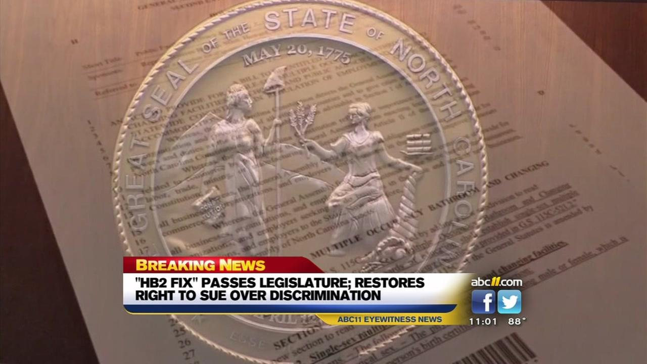 Change approved for HB2