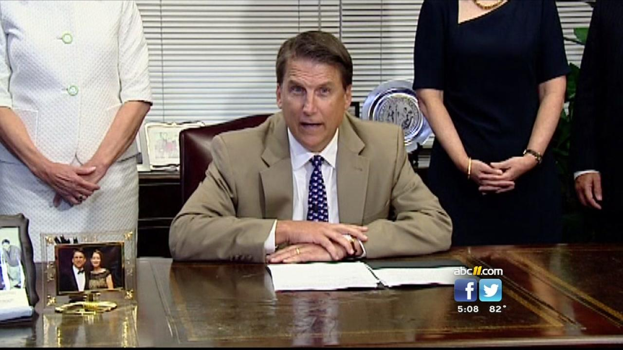 Legislators wrap up session; McCrory has dozens of bills to sign