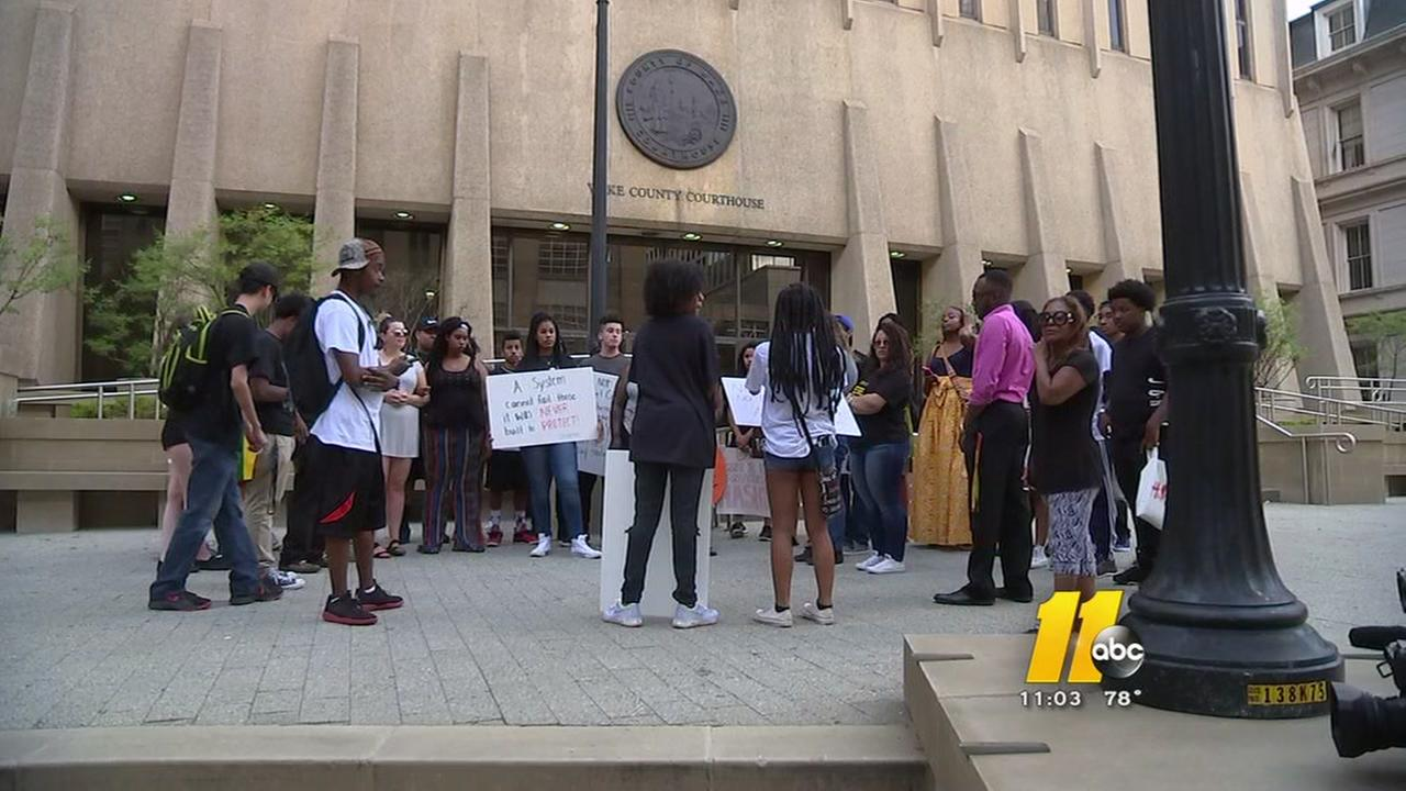 Protest, faith gatherings held in Raleigh after deadly week