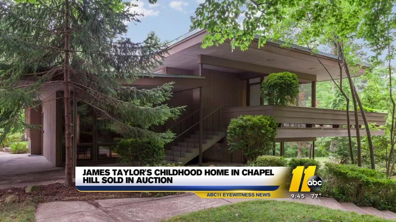 James Taylors childhood home in Chapel Hill sold