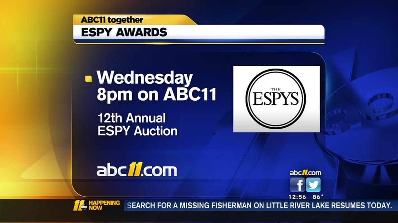 ESPY auction raises money for V Foundation