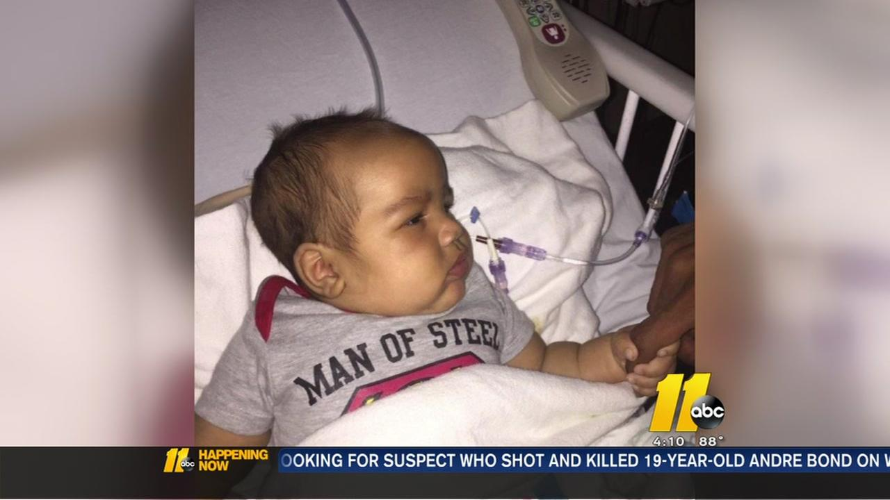 Baby shot in Fayetteville doing well