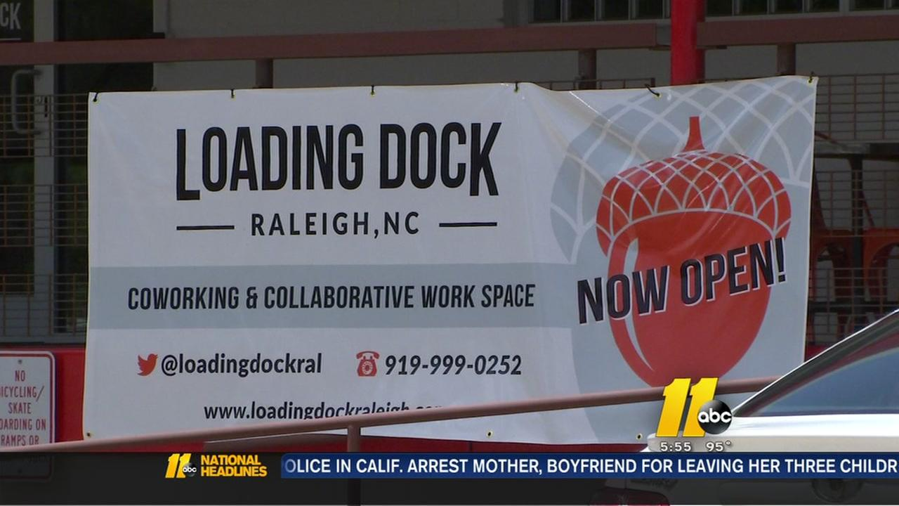 Shared workspace opens in Raleigh