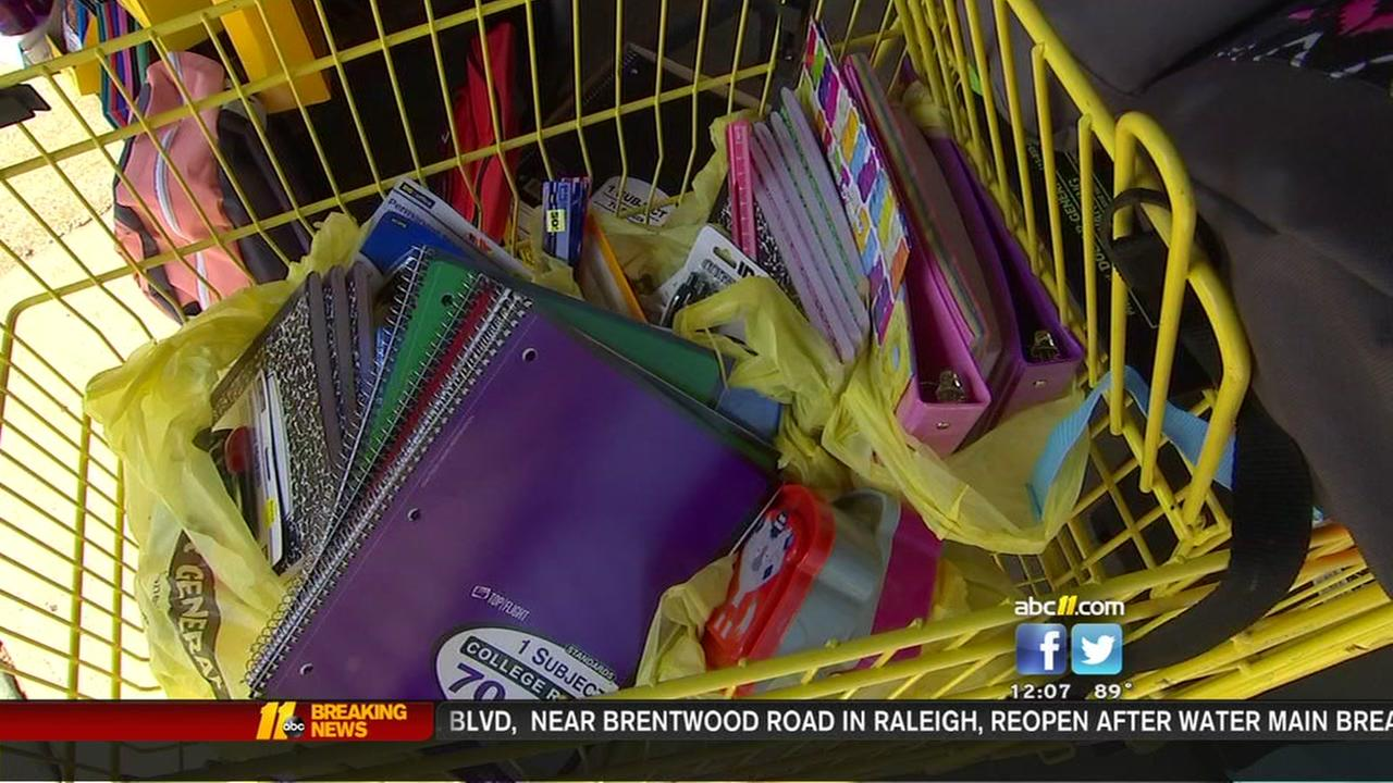 Back-to-school donations for kids in need