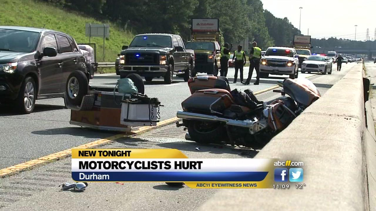 motorcycle accident com motorcyclists seriously hurt in durham i 40 collision