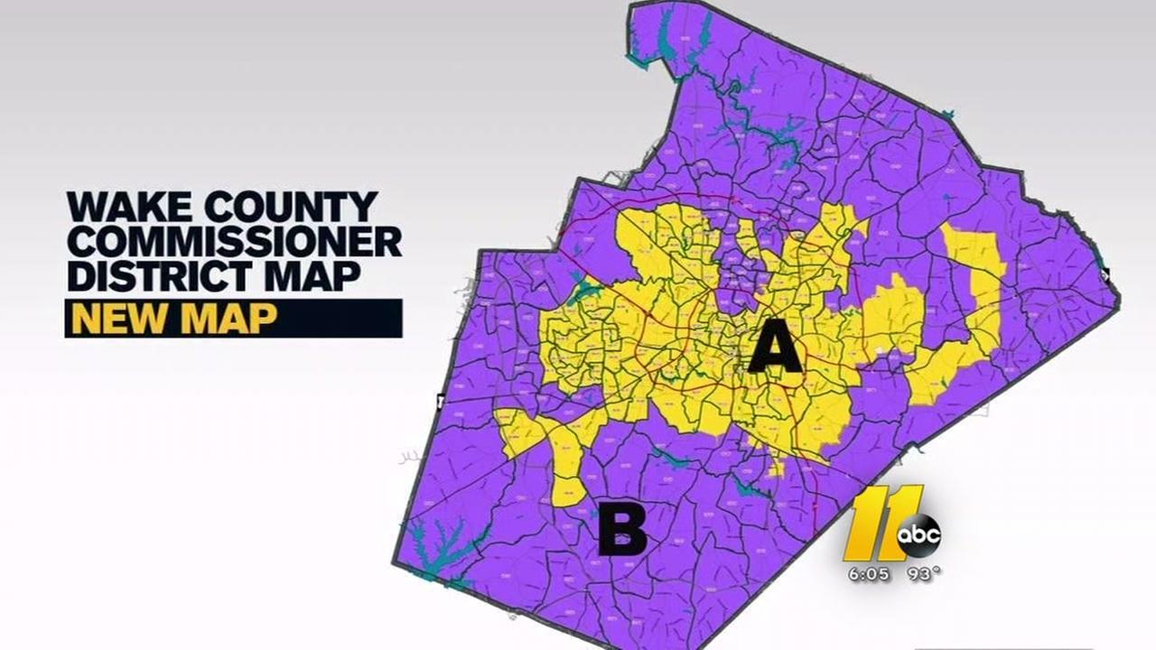 Wake County map flap