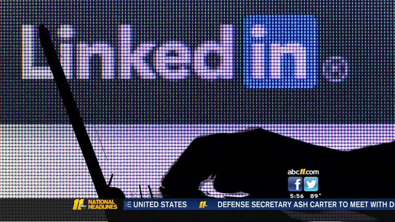 Scammers targeting LinkedIn