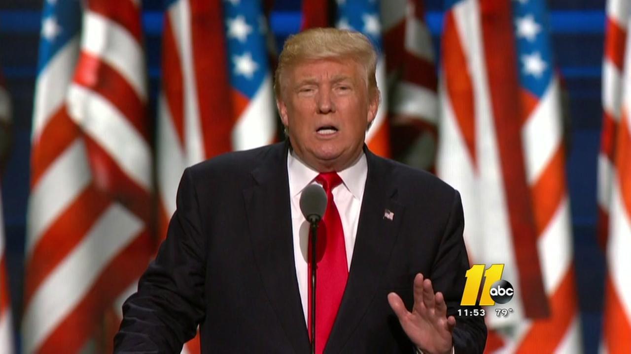 Trump accepts GOP nomination
